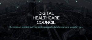 Image of Digital Healthcare Council Website
